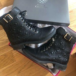 Vince Camuto biker boots